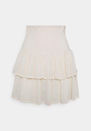 FELICE SMOCK SKIRT  - Mini skirt - birch