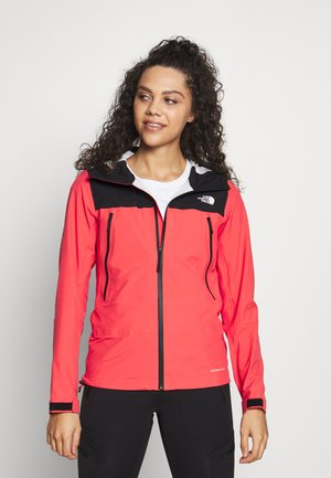 WOMENS TENTE JACKET - Hardshell jacket - cayenne red/black