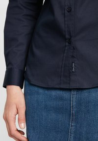 Cross Jeans - Button-down blouse - navy - 4