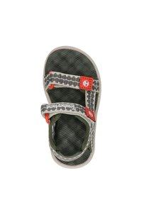 Timberland - PERKINS ROW JONGENS - Sandals - groen - 2