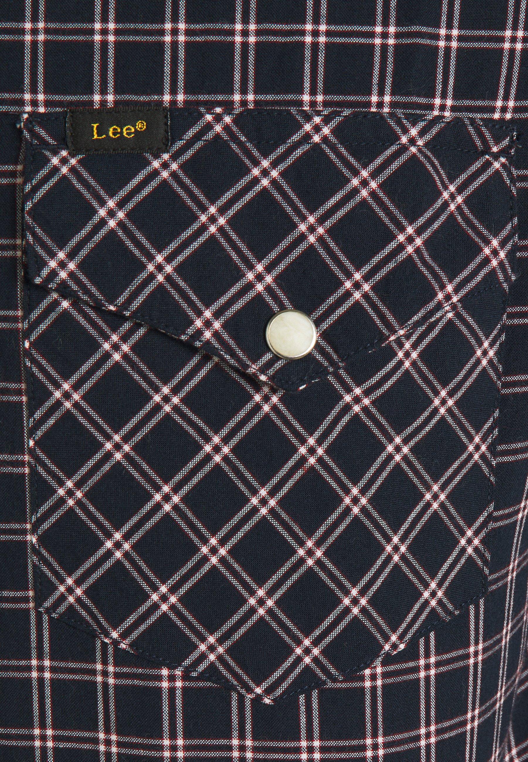 Lee Clean Western Shirt - Skjorte Sky Captain/mørkeblå