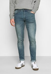 Blend - MULTIFLEX RECYCLE - Slim fit jeans - denim middle blue - 0