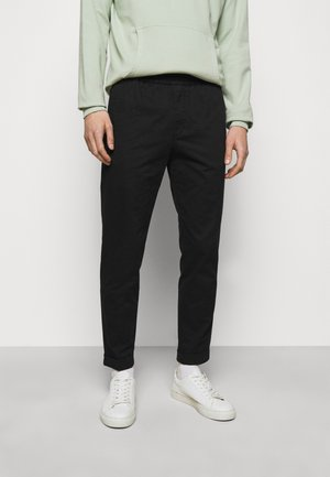 TERRY TROUSER - Trousers - black