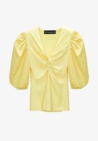 Uterqüe - Blouse - yellow - 4