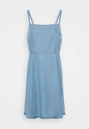 CAMI DRESS - Denim dress - light wash
