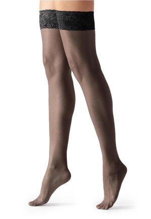 STAY UP  - Over-the-knee socks - black