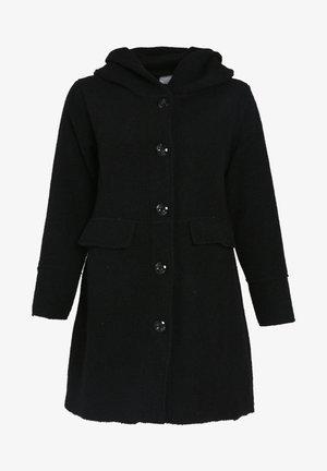 MIT KAPUZE - Short coat - black