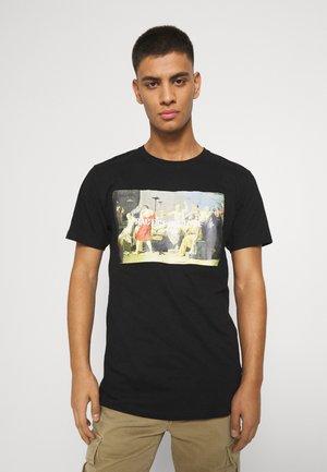 PHOTO TEE - T-shirts print - black