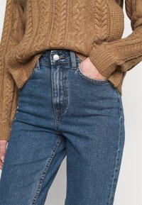 Object Tall - OBJVINNIE MOM - Vaqueros boyfriend - medium blue denim - 4