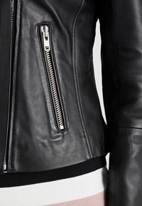 Samsøe Samsøe - Leather jacket - black - 7