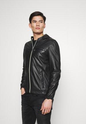 CORP - Leather jacket - noir