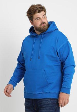 OVERSIZED HOODY  - Hoodie - bright blue