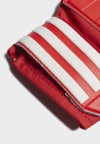 adidas Performance - FC BAYERN GOALKEEPER TRAINING GOALKEEPER GLOVES - Goalkeeping gloves - red - 3