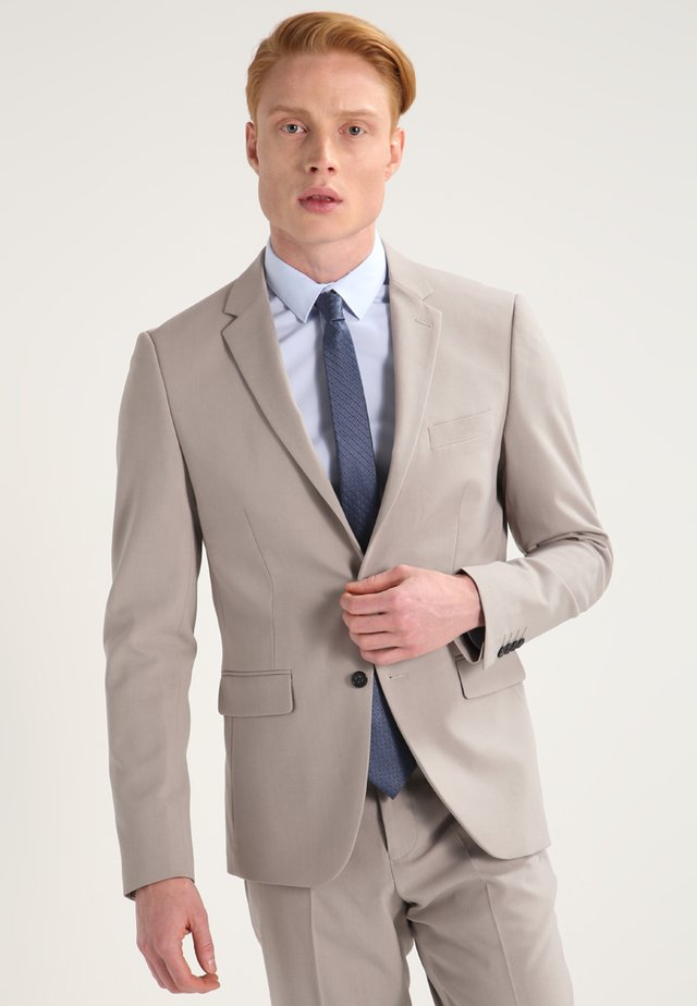 PLAIN MENS SUIT - Costume - beige