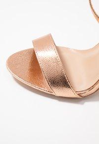Glamorous - High heeled sandals - rose gold - 2