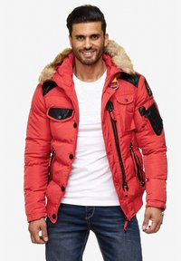 Cipo & Baxx - Winter jacket - red - 0