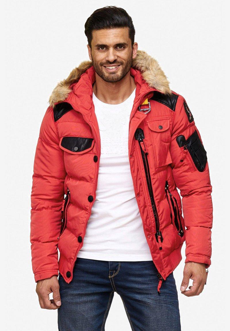 Cipo & Baxx - Winter jacket - red