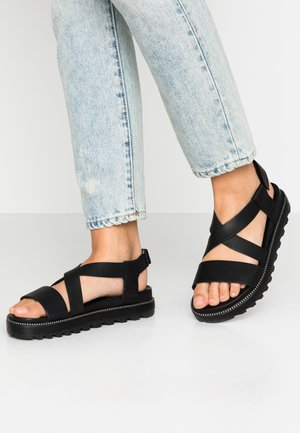 ROAMING CRISS CROSS - Sandali - black