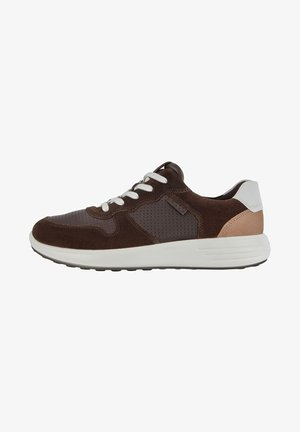 SOFT 7 RUNNER - Sneakers - coffee/mocha/white/cashmere