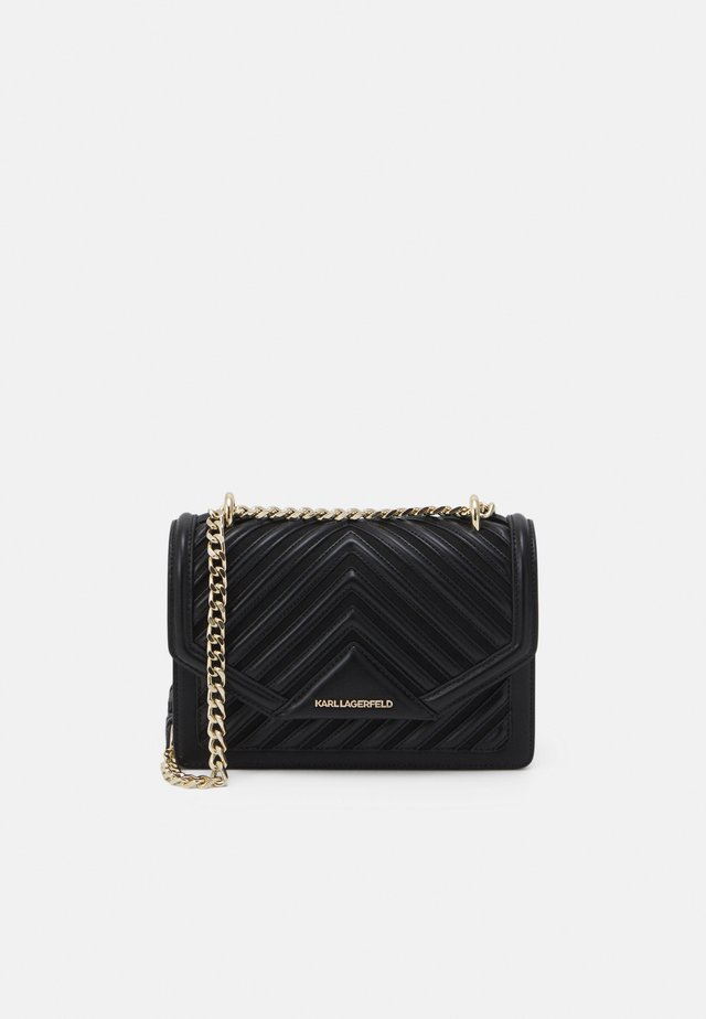 KLASSIK QUILTED CROSSBODY - Sac bandoulière - black