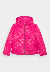Benetton - BASIC GIRL - Talvitakki - pink - 0