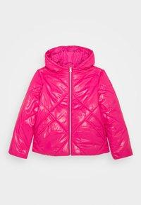 Benetton - BASIC GIRL - Zimní bunda - pink - 0