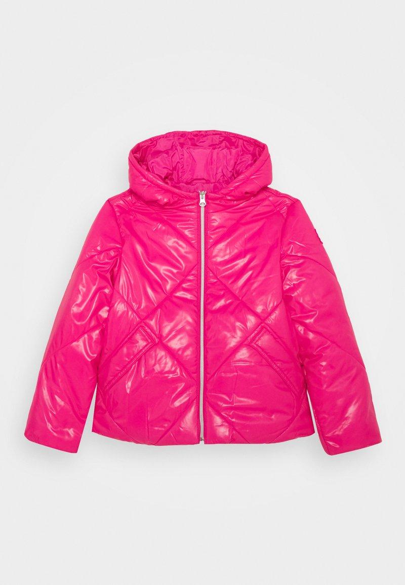 Benetton - BASIC GIRL - Zimní bunda - pink