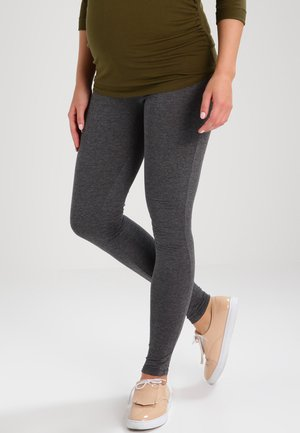 Leggings - Hosen - dark grey melange