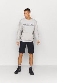 Columbia - MINAM RIVERCREW - Sweatshirt - nimbus grey heather/city grey - 1