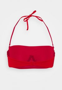 Tommy Hilfiger - CORE SOLID WIRED BANDEAU - Bikini top - primary red - 8