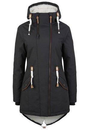 MIT TEDDY INNENFUTTER - Winter coat - anthrazit