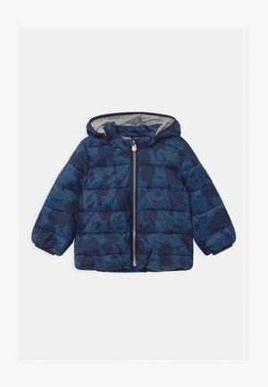 PUFFER - Winter jacket - chrome blue