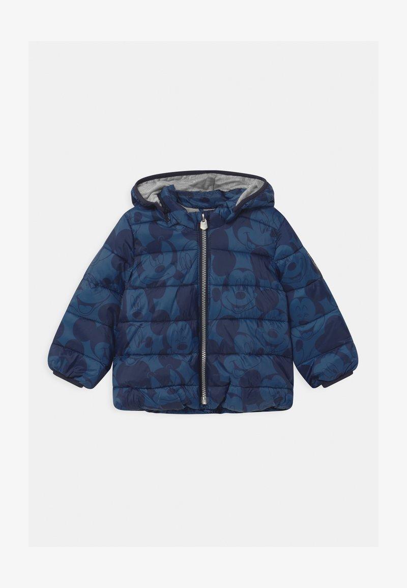GAP - PUFFER - Zimní bunda - chrome blue
