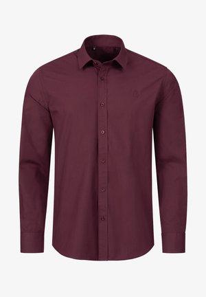 REGULAR FIT  - Formal shirt - weinrot