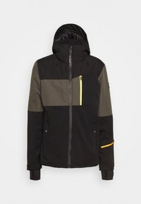 Brunotti - DAKOTO MENS SNOWJACKET - Snowboardová bunda - pine grey - 6
