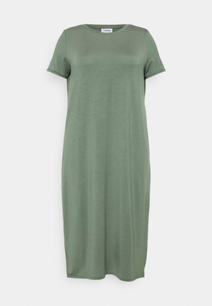 VMGAVA DRESS CURVE - Jersey dress - laurel wreath