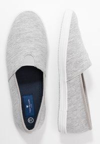 TOM TAILOR - Scarpe senza lacci - light grey - 3