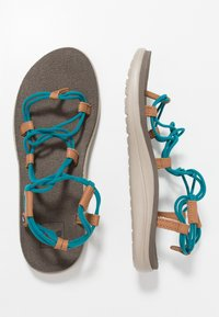 Teva - VOYA INFINITY - Walking sandals - deep lake - 1