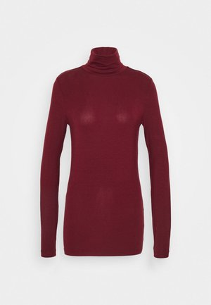 VMAVA LULU ROLLNECK - Long sleeved top - cabernet