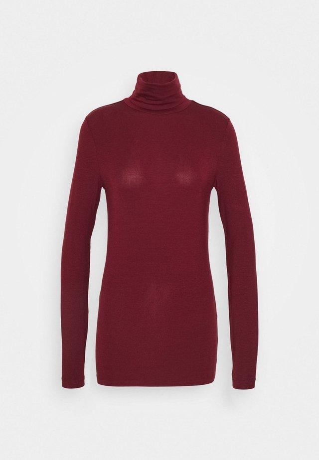 VMAVA LULU ROLLNECK - Camiseta de manga larga - cabernet