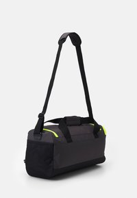 adidas Performance - 3S DUFFLE S - Sports bag - dgh solid grey/black/solar yellow - 1