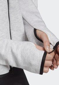 adidas Performance - ADIDAS Z.N.E. HOODIE - Sudadera con cremallera - grey - 3
