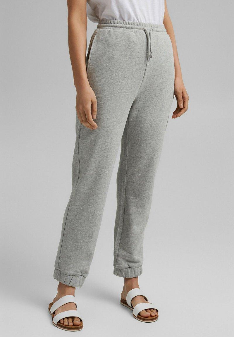 Esprit - Tracksuit bottoms - light grey