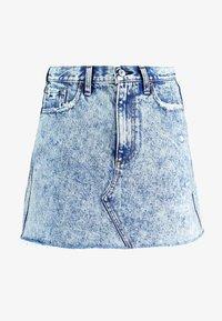 Abercrombie & Fitch - MINI SKIRT - A-line skirt - blue - 4