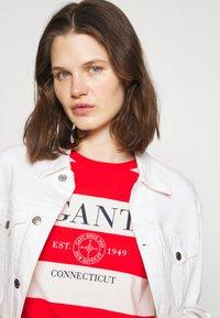 GANT - STRIPED NAUTICAL - Print T-shirt - lava red - 3