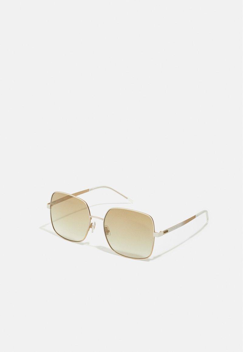 BOSS - Lunettes de soleil - white/gold-coloured
