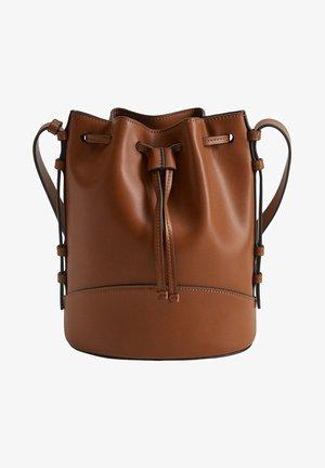CRISEIDA - Handbag - marron moyen