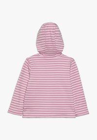 JoJo Maman Bébé - LLAMA REVERSIBLE HOODIE - veste en sweat zippée - rosa - 2