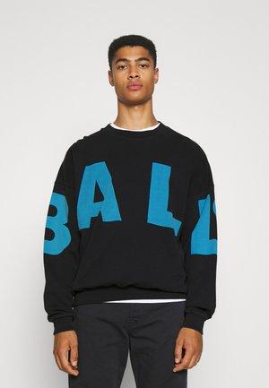 BALL WHAM CREW NECK - Sweatshirt - black
