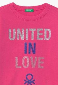 Benetton - BASIC GIRL - Sweatshirt - pink - 2